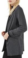 Topshop Women's Open Front Blazer