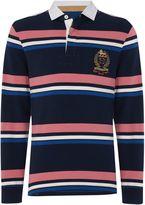 Howick Duxbury Striped Long Sleeve Rugby Shirt