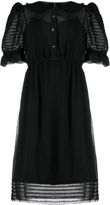 Marc Jacobs Puff Sleeve Dress