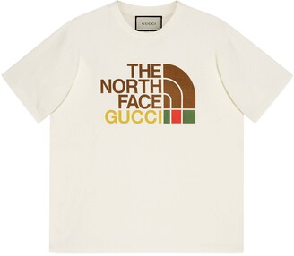 Gucci The North Face x oversize T-shirt