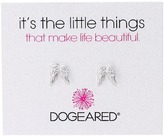 Dogeared It's The Little Things Teeny Angel Wings Earrings Earring