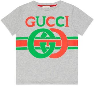 Gucci Children's T-shirt with Interlocking G