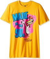 T-Line Cow & Chicken Made in the 90s Cartoon Network funny Adult T-Shirt Tee