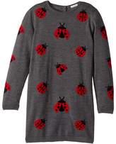 Dolce & Gabbana Back to School Lady Bug Sweater Dress (Big Kids)
