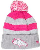 New Era Women's Denver Broncos NFL 2016 Breast Cancer Awareness Sport Knit Hat