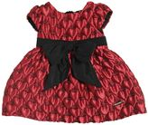 Moschino Heart Jacquard Party Dress