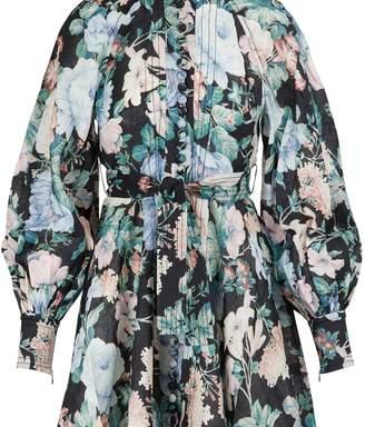 Zimmermann Verity linen dress