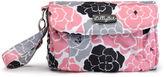 LILLYBIT LillyBit Pink Floral Clutch Diaper Bag