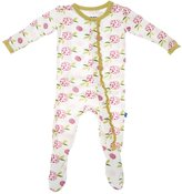 Kickee Pants Baby Girl's Muffin Ruffle Footie