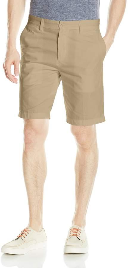 Nautica Men's Solid Flat Front Slim Fit Short