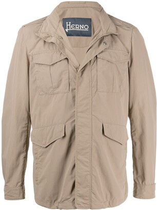 Herno High-Neck Field Jacket