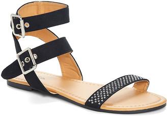 Chatties Women's Sandals Black - Black Stud-Accent Gladiator Sandal - Women