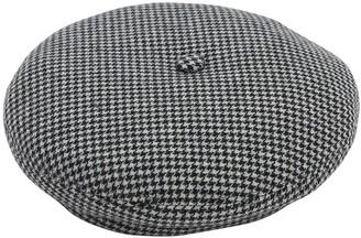 Borsalino Wool Houndstooth Basco Hat