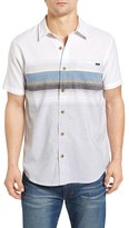 O'Neill Men's The Williams Trim Fit Stripe Woven Shirt