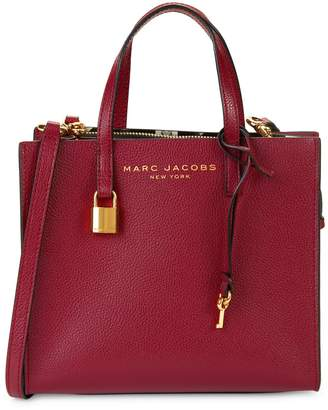 Marc Jacobs Mini Grind Coated Leather Satchel
