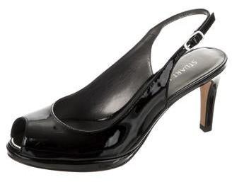 Thumbnail for your product : Stuart Weitzman Slinky Slingback Pumps Black
