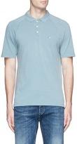 Denham Jeans 'Segment' logo embroidered polo shirt