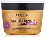 L'Oreal Hair Expert Extraordinary Oil Curls Re-Nourish Mask, 8.5 fl. oz. (Packaging May Vary)