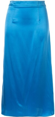 macgraw Shadow midi skirt