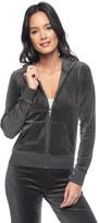 Juicy Couture Logo Velour Jc Floral Original Jacket