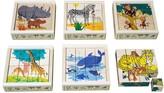 ATELIER FISCHER 16-cubes Wild Animals Puzzle