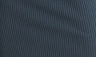 Reiss Lara One Shoulder Long Sleeve Ribbed Sweater Dress