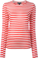 Rag & Bone striped sweatshirt - women - Silk/Cashmere/Tencel - S