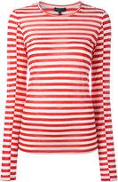 Rag & Bone striped sweatshirt - women - Tencel/Cashmere/Silk - XS