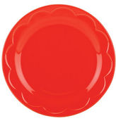 Kate Spade All in Good Taste Sculpted Scallop Accent Plate