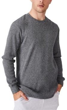 Cotton On Men's Waffle Long Sleeve T-shirt