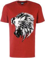 Just Cavalli lion print T-shirt - men - Cotton - M