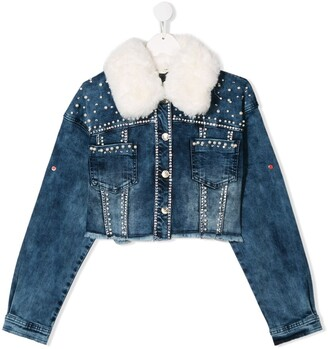 MonnaLisa TEEN denim jacket