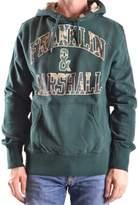 Franklin & Marshall Men's Green Cotton Sweatshirt.