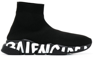 Balenciaga Graffiti Speed Sneakers