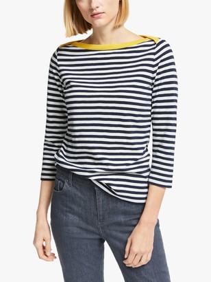 Boden Georgia Striped Cotton Jersey Top