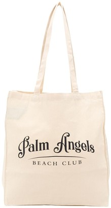 Palm Angels Beach Club logo tote