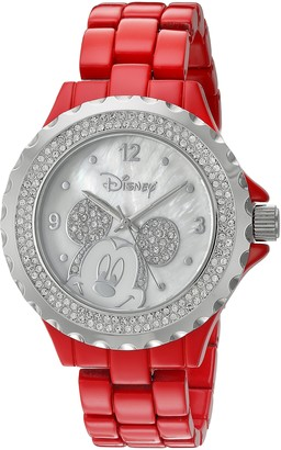 Disney Women's Mickey Mouse Analog-Quartz Watch with Alloy Strap