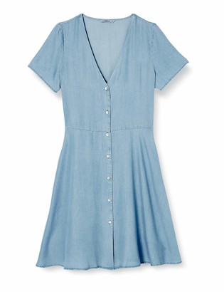Only Women's Onlmiranda S/s Short Button Dress WVN