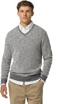 Tommy Hilfiger Marled V-Neck Sweater