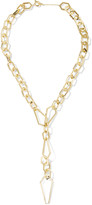 Noir Louis the Pious gold-tone necklace