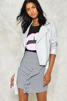 Nasty Gal Liz Vegan Leather Moto Jacket