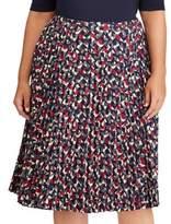 Lauren Ralph Lauren Plus Colyn A-Line Skirt