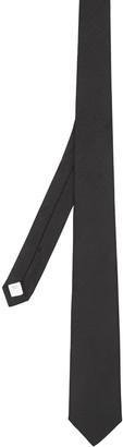 Burberry Classic Cut Silk Moire Jacquard Tie