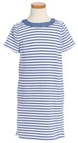 Vineyard Vines Toddler Girl's Stripe Stretch Cotton Shift Dress