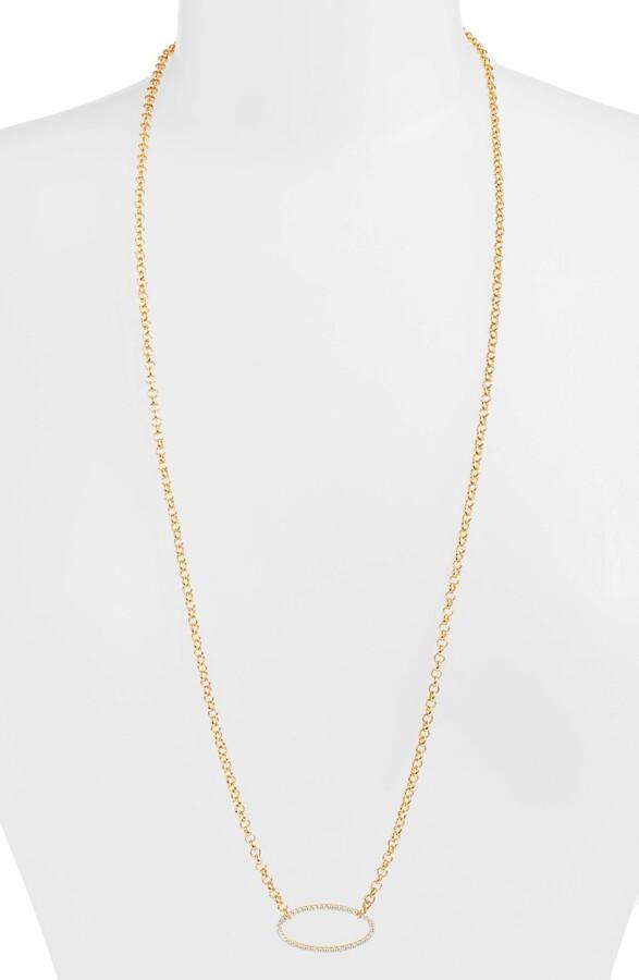 Dean Davidson Signature Open Oval Pendant Necklace