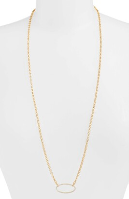 Dean Davidson Signature Open Oval Pendant Necklace