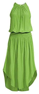 Ramy Brook Women's Audrey Blouson Midi Dress