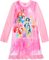 Disney Princesses A Heart Full of Dreams Nightgown, Little Girls (2-6X) and Big Girls (7-16)