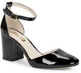 Louise et Cie Idina Patent Leather T-Back Heels