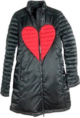 Moschino Love Black Coat for Women